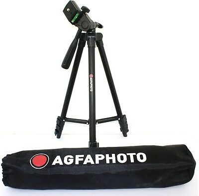 "AGFAPHOTO 50"" Pro Tripod With Case For Sony HDR-CX580V"