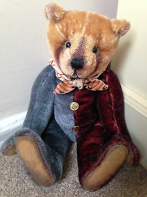 Fabulous Artist Vintage Style Fully Jointed Mohair Weighted Bear Riffenberg Bear