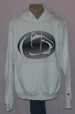 Champion Penn State Nittany Lions Pullover Hooded Sweatshirt White 2XL