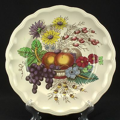"Spode / Copeland Reynolds Dinner Plate  10-3/4"" MODERATE CRAZING"