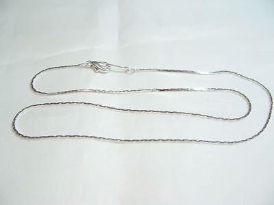 3 x 40cm Fine Silver Plated Snake Chain Necklaces