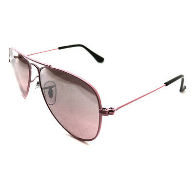 Ray-Ban Junior Sunglasses 9506 211/7E Pink Pink Mirror Silver Gradient