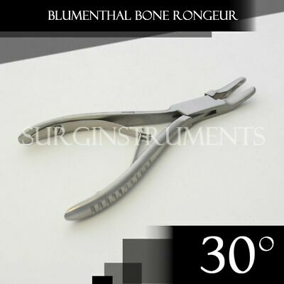 "1 Piece of Blumenthal Bone Rongeur 30 Degree 6"" Surgical Dental Instruments"