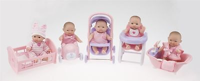 "Miniature Berenguer 5""Set Baby Dolls Collectable 4 Reborn/Play Nursery clothes"