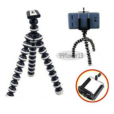 NEW Mini Octopus Flexible Tripod Stand for iPHONE GALAXY S2 Camera Smart Phone