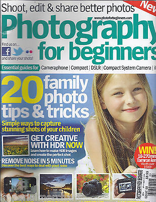 Photography for Beginners magazine Family portrait tips and tricks Using effects