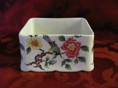 James Kent Old Foley Chinese Rose tea box bottom only England