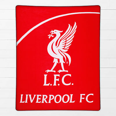 Liverpool FC Football Red The Reds Boys Kids Childrens Wrap Fleece Blanket Throw