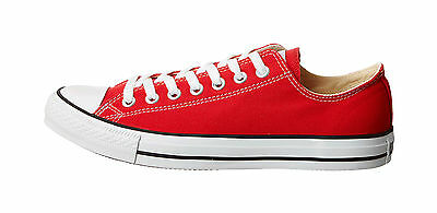 aeea526f42cc CONVERSE Chuck Taylor All Star Shoes Low Top Red Classic Women Sneakers  M9696