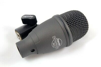 iSK BDM2 BASS KICK DRUM MIC MICROPHONE + 6-meter XLR cable