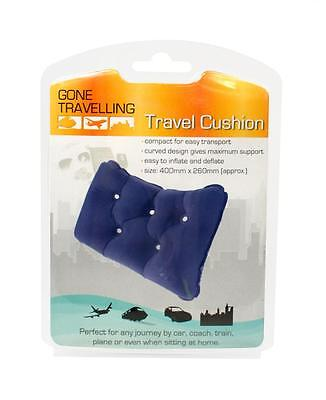 BoyzToys RY498 Gone Travellin' Compact Inflatable Travel Curved Back Support New
