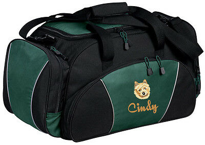 Norwich Terrier Embroidered Duffel Bag