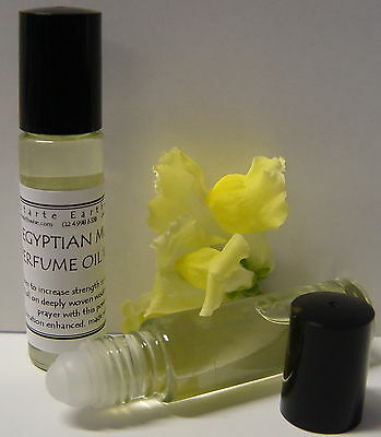 1 x EGYPTIAN MUSK OIL 10mls ROLL ON PERFUME OIL Wicca Witch Pagan Goth Spell