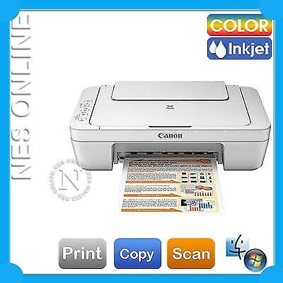 NEW Canon PIXMA MG2560 3-in-1 Color Inkjet MFP Printer (WITHOUT Starter Ink)