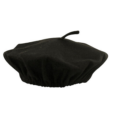 Fancy Dress  Beret French Black - Buy 5 Items Get Postage Free