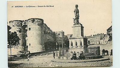 49* ANGERS   chateau - statue