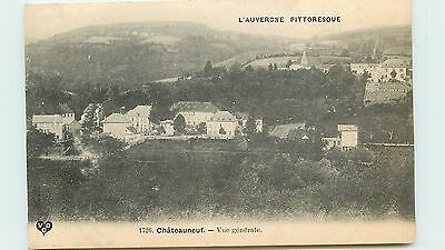 63* CHATEAUNEUF  vue generale