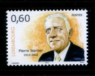 LUXEMBOURG Pierre Werner MNH stamp