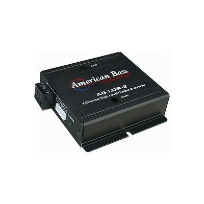 American Bass ABLDR2 High To Low Level Front & Rear Out
