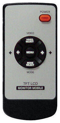 """Tview TRP25 25"""" Tft LCD Raw Monitor Universal Mount Remote"""