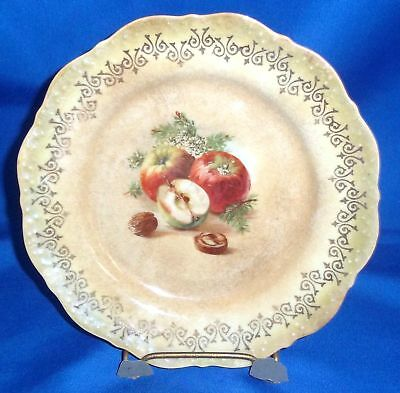 Imperial China, Golden Yellow Apple Plate, 6 1/4""
