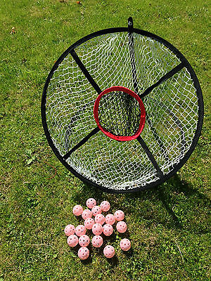Job Lot 25 x JL Golf Portable 60cm Practice Golf Chipping Nets Outdoor Indoor