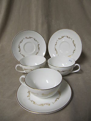 Royal Doulton French Provincial Cup And Saucer Sets In Excellent Condition