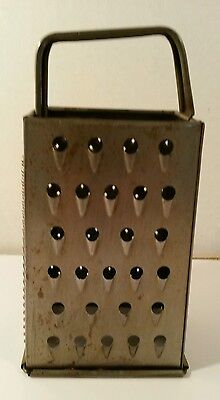 Vintage Bromwell Grater Shredder Slicer Zester Cheese Veggies Kitchen Utensil