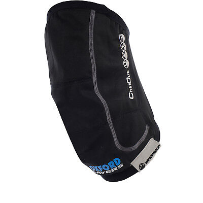 Oxford ChillOut Windproof Knee Warmers Motorcycle Motorbike Thermals GhostBikes