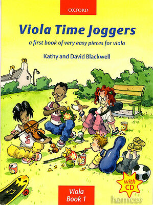 Viola Time Joggers Learn How to Play Tutor Method Teaching Book 1 +CD Blackwell