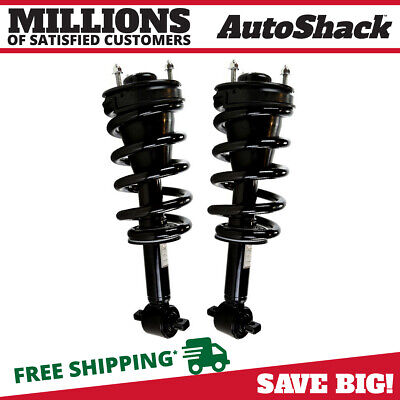 2 Quick Install Complete Strut Assemblies Front Pair