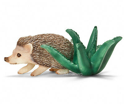 Schleich 14676 Four-toed Hedgehog Model Animal Toy - NIP