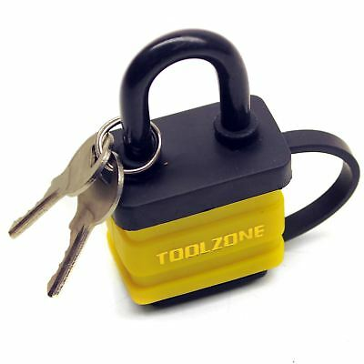 40mm Padlock Laminated Waterproof Security Shed Gate Lock Shackle TE151