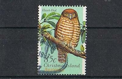 STAMPS from AUSTRALIA CHRISTMAS ISLAND 1996  85c LAND BIRD   (FINE USE) lot 843b