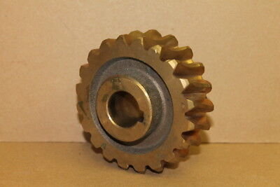 "Worm gear 596.395.1, 435.5197A, 1"" bore"