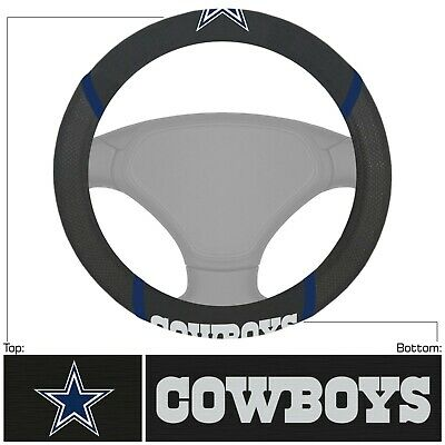 A New NFL Dallas Cowboys Synthetic leather Car Truck Steering Wheel Cover