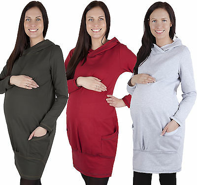 MIJA / Maternity Pregnancy warm Hoodie Top Pullover Sweater Tunic