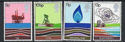 GB 1978 Energy Resources unmounted mint set stamps