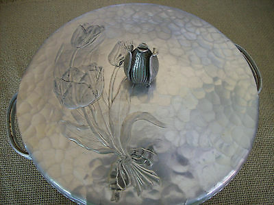 =LOTR VINTAGE RODNEY KENT CASSEROLE DISH COVERED FORGED ALUMINUM #461 COLLECTOR