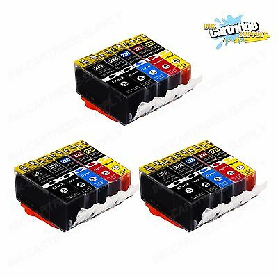 15PK NEW Ink Cartridges chip installed for pgi-225 cli-226 Canon MG5220 MG5320