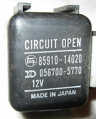 Toyota 85910 35040 Relay Wiring Schematic. Relay Box, Relay ... on