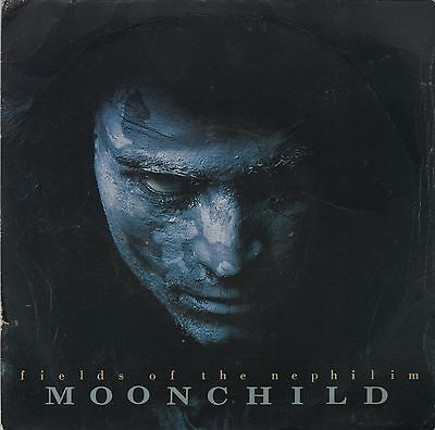 "FIELDS OF THE NEPHILIM-Moonchild/Shiva UK 7"" EX Cond"