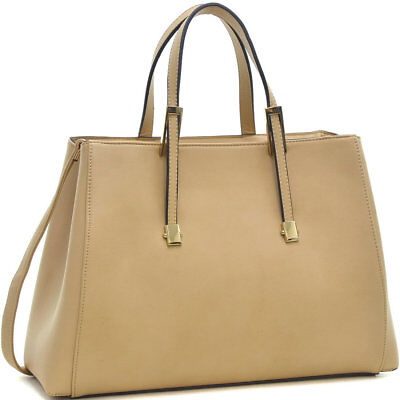 New Women Leather Classic Briefcase Business Bag Laptop Bag