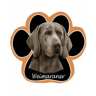 WEIMARANER Dog Paw Shaped Computer MOUSE PAD Mousepad