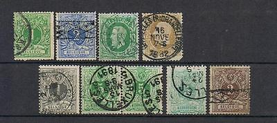 STAMPS  BELGIUM SELECTION  from 1869 / 1884  (FINE USED)   lot 540