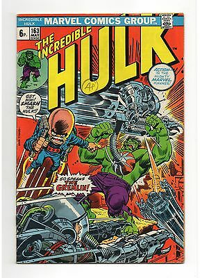 Incredible Hulk Vol 1 No 163 May 1973 (FN-)
