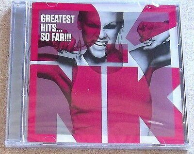PINK Greatest Hits... So Far!!! CD SOUTH AFRICA Cat# CDAST554 *sealed* P!NK