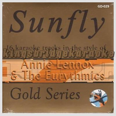 Annie Lennox & The Eurythmics Cd+g Disc Sfgd029 Sunfly Gold Karaoke Cdg Musical Instruments & Gear Karaoke Cdgs, Dvds & Media