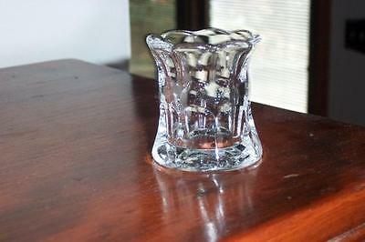 HEISEY HTF EARLY #333 WALDORF ASTORIA TOOTHPICK HOLDER MARKED H