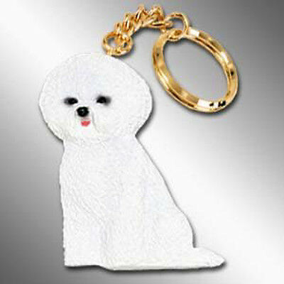 Bichon Frise Dog Best Friends Unbreakable Keychain Key Chain